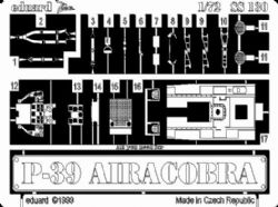 Eduard Accessories SS106 A-37 B Dragonfly in 1:72